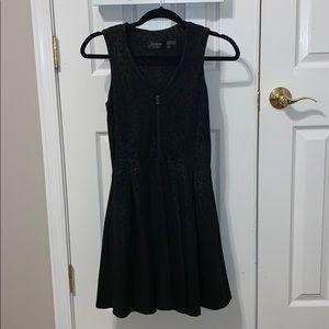 Guess Los Angeles Black and Cheetah Dress Size 2
